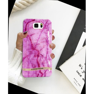 Samsung S6 Edge Luxury Mobile Cover Pink