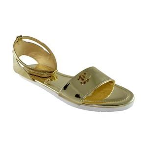 Walkeaze Flat Slippers for Women 35084S Golden