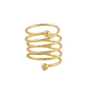 Challa Ring for Unisex J109 Golden