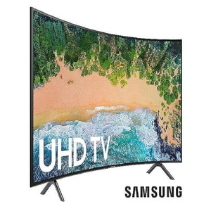 "Samsung 55"" Curved UHD Smart Led Tv Nu7300 Black"