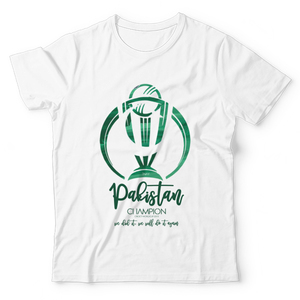 The Warehouse Icc Cricket World Cup Merchandise Graphic T-Shirt For Kids KGT-M006864 Green & White