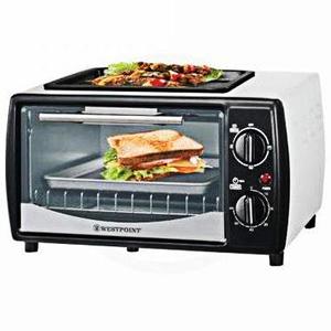 Westpoint Toaster Oven Wf-1000D White & Black
