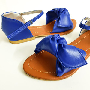 Flat Sandals for Women WI133 - Blue