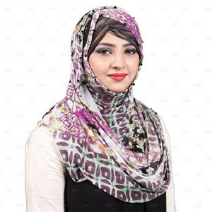 Net Hijab For Women Pn052 Purple