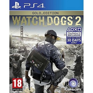 SONY PlayStation 4 DVD Watch Dogs 2 Gold Edition P ...
