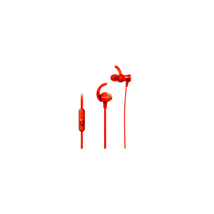 Sony Extra Bass Sports In-Ear Headphones Red (XB510AS)