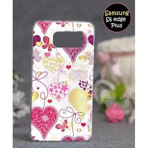 Samsung S6 Edge Plus Fancy Cover SA-5365 Pink
