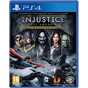 SONY PlayStation 4 DVD Injustice Gods Among Us PS4 Game