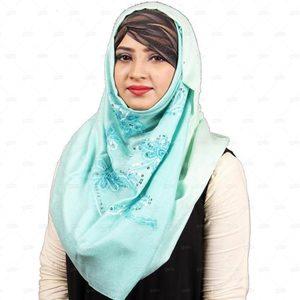 Pashmina Hijab For Women Pm014 Blue