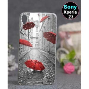 Sony Xperia Z3 Rain Style Case SA-3869 Multi Color