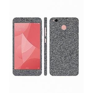 Xiaomi Redmi 4X Glitter Mobile Skin Silver