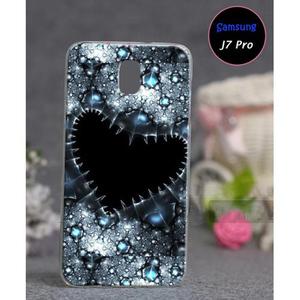 Samsung J7 Pro Soft Cover Heart SA-5529  ...