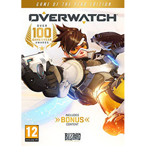 Overwatch Game of the year Edition PS4 DVD