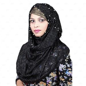 Women Net Hijab Pn062 Black