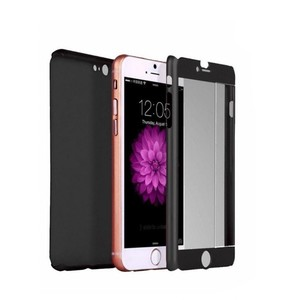 360 Degree Case For iPhone 6 & 6S Black