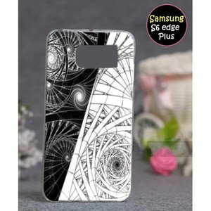 Samsung S6 Edge Plus Cover Fancy Style SA-3377 Gre ...