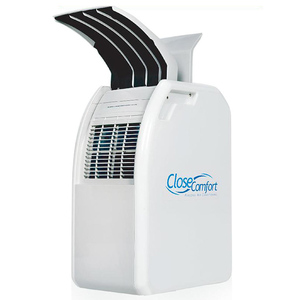 Close Comfort PC8 Portable Air Conditioner with Free Pyramid Tent White