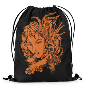 The Warehouse The Orange Lady Drawstring Bag DB-M001962 Multicolor