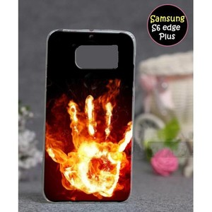 Samsung S6 Edge Plus Mobile Cover Fire Hand Style ...