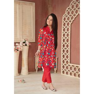 Sitara Studio 2 Pcs Unstitched Lawn Suit SC6145-002-00A Red