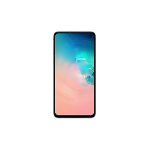 "Samsung Galaxy S10e 4G, 5.8"" Screen, 6GB RAM, 128GB ROM, Single Sim Smartphone White"