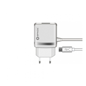 Space WC-105 Micro USB Cable Wall Charger White