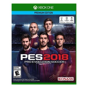 2018 Pro Evolution Soccer Game For Xbox One