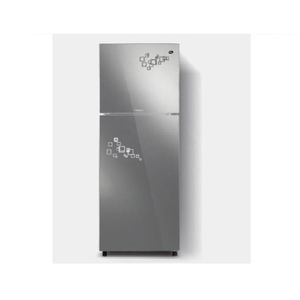 PEL Inverter Curved Glass Door Refrigerator PRINVOGD 2550 Silver