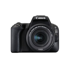 Canon EOS 200D Rebel SL2 Kit with EF-S 18-55mm Dig ...