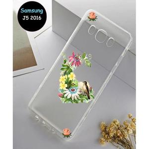Samsung J5 2016 Cover Multi Fancy SA-4131 Transparent