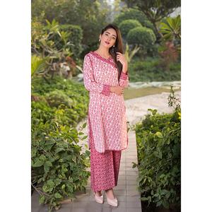 Sitara Studio 2 Pcs Unstitched Sapna Lawn Collection 6117 A Pink