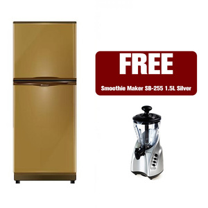 Dawlance FP Series 6.2 Cu ft Refrigerator 9122FP Opal Green with Free Kenwood Smoothie Maker