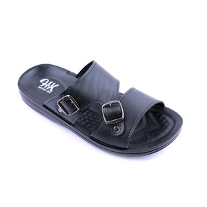 Stylish Slipper For Men GB104 - Black