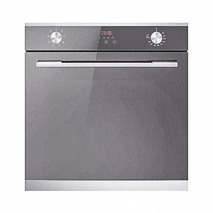 Crown Built-In Oven B4-Fge23E6Tix Digital Gas & Electric 73 Liters Triple Glazed Glass Black