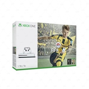 Xbox One 1 TB FIFA 17 Bundle with Charging Pod &am ...