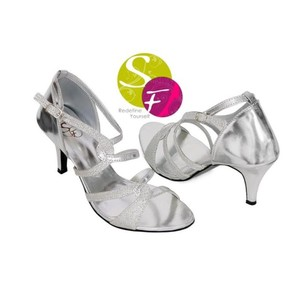 Stylish Heel Sandals For Women 735 - Silver