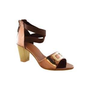 Walkeaze Heel Sandals for Women 61045S Brown