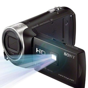 Sony Full HD Camcorder Built-in Projector Video Ca ...