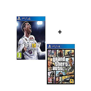 Multiple Brands Bundle Offer GTA V, FIFA18 For PS4