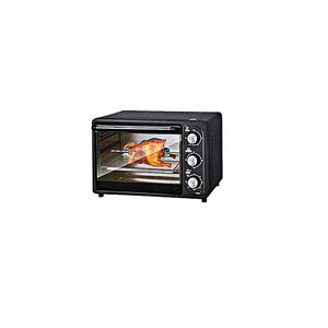 Baking Electric Toaster Oven Black
