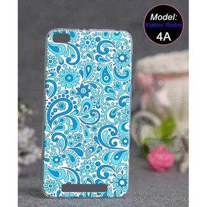 Xiaomi Redmi 4A Fancy Style Cover SA-3700 Blue