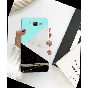 Samsung J7 2015 Marble Style 1 Mobile Cover Multi Color