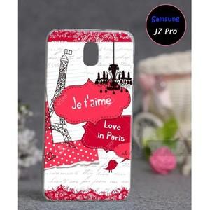 Samsung J7 Pro Soft Cover Eiffel Tower SA-5563 Pin ...