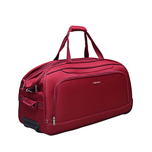 Carlton Dart Duffle 62 cm Trolley with Wheels AHE-26 Red