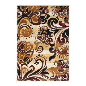 SAJALO Persian Rug Beige and Brown