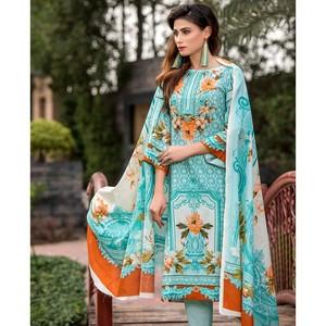 4 Pcs Unstitched Lawn Suit for Women UD Lawn-C-259 ...