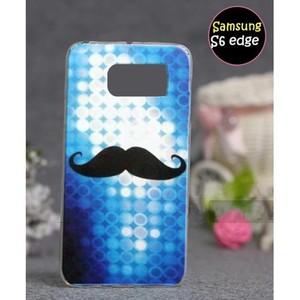 Samsung S6 Edge Cover Mustache SA-5017 Multi Color