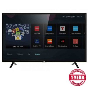 TCL 32 Inches Smart HD TV LED TV 32S62 Black