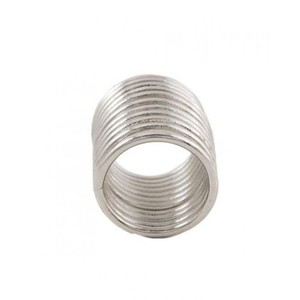 Challa Ring for Unisex J113 Silver