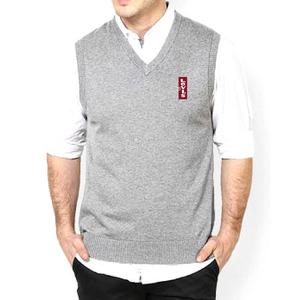 ProtonX Sleeveless Sweater For Men Grey